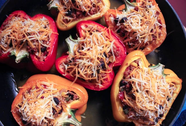 Turkey-and-quinoa-stuffed-bell-peppers-step-7