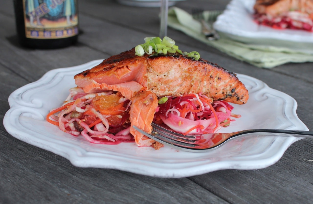 ginger-soy-glazed-salmon-with-asian-beet-slaw-6