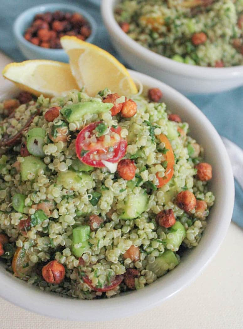 quinoa-green-goddess-bowl-with-crispy-chickpeas-and-tahini