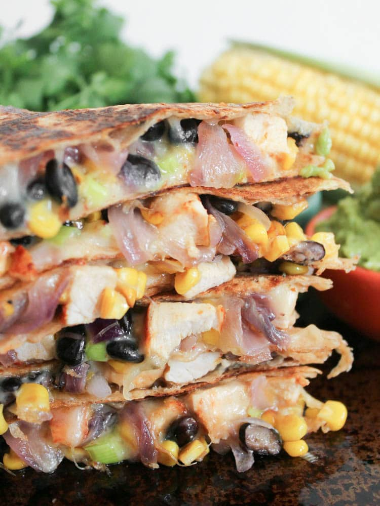 Spicy-Chicken-Quesadillas-with-Corn-Black-Beans-and-Caramelized-Onions-10