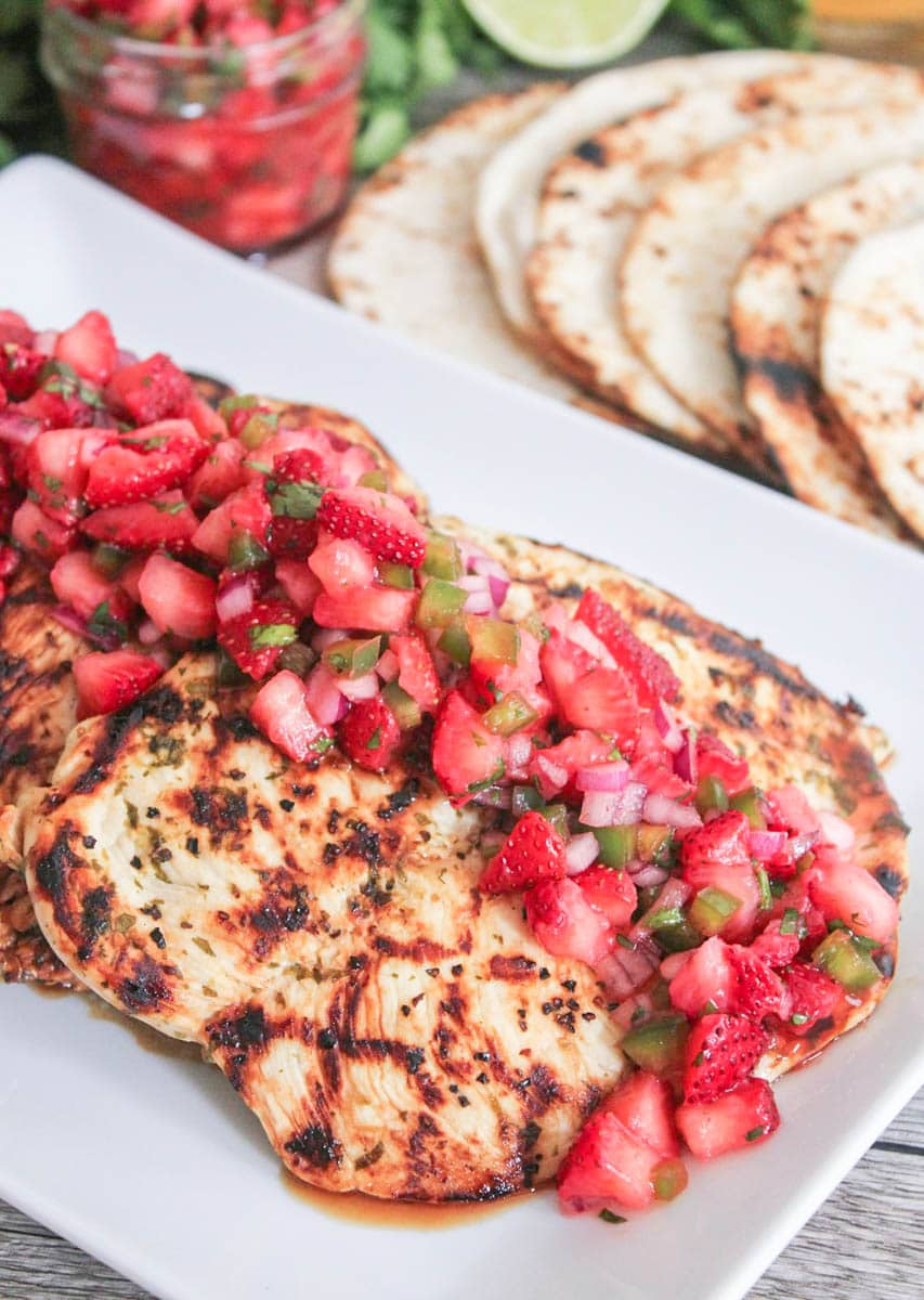 Cilantro-Lime-Chicken-with-Strawberry-Jalapeno-Salsa