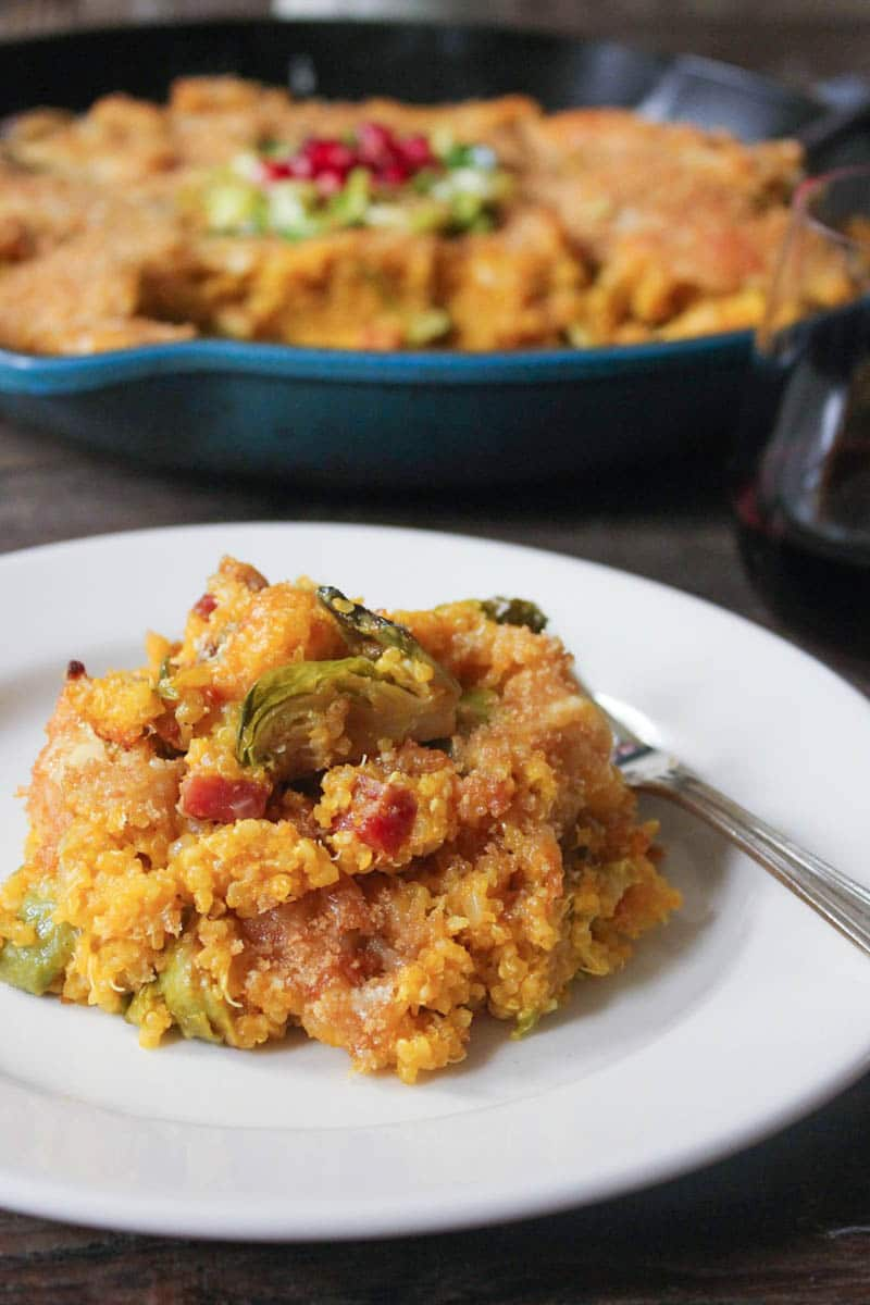 Kabocha-Squash-Quinoa-Bake-with-Brussels-Sprouts-and-Pancetta-5