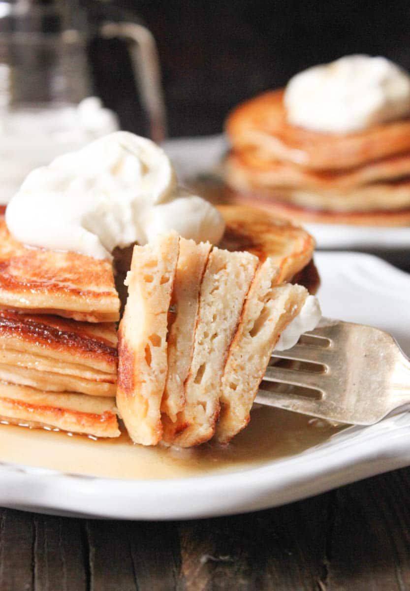 Cinnamon-Ricotta-Pancakes-with-Maple-Bourbon-Whipped-Cream-7