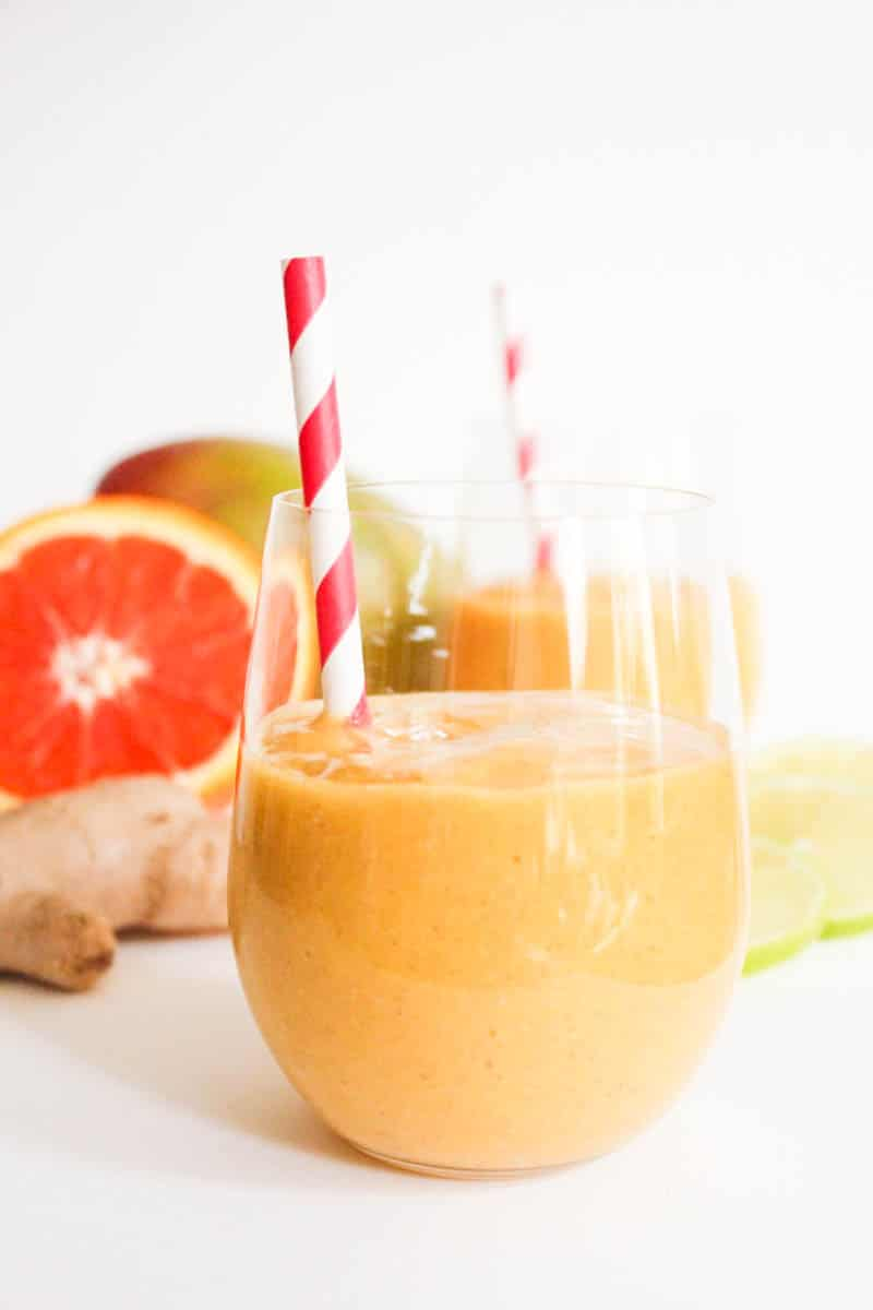 vegan-mango-banana-ginger-smoothie