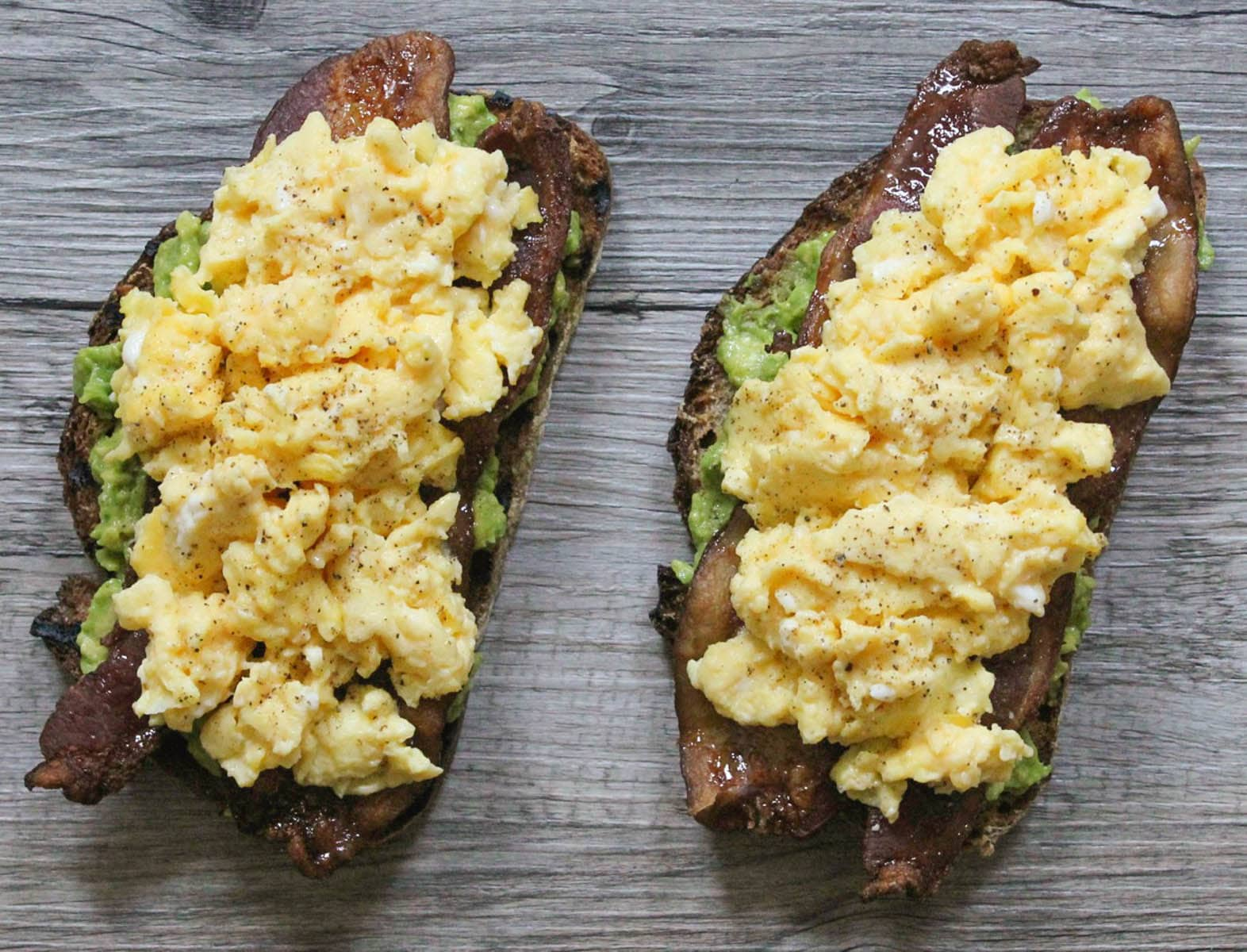 Avocado-Toast-with-Spicy-Maple-Bacon-and-Eggs