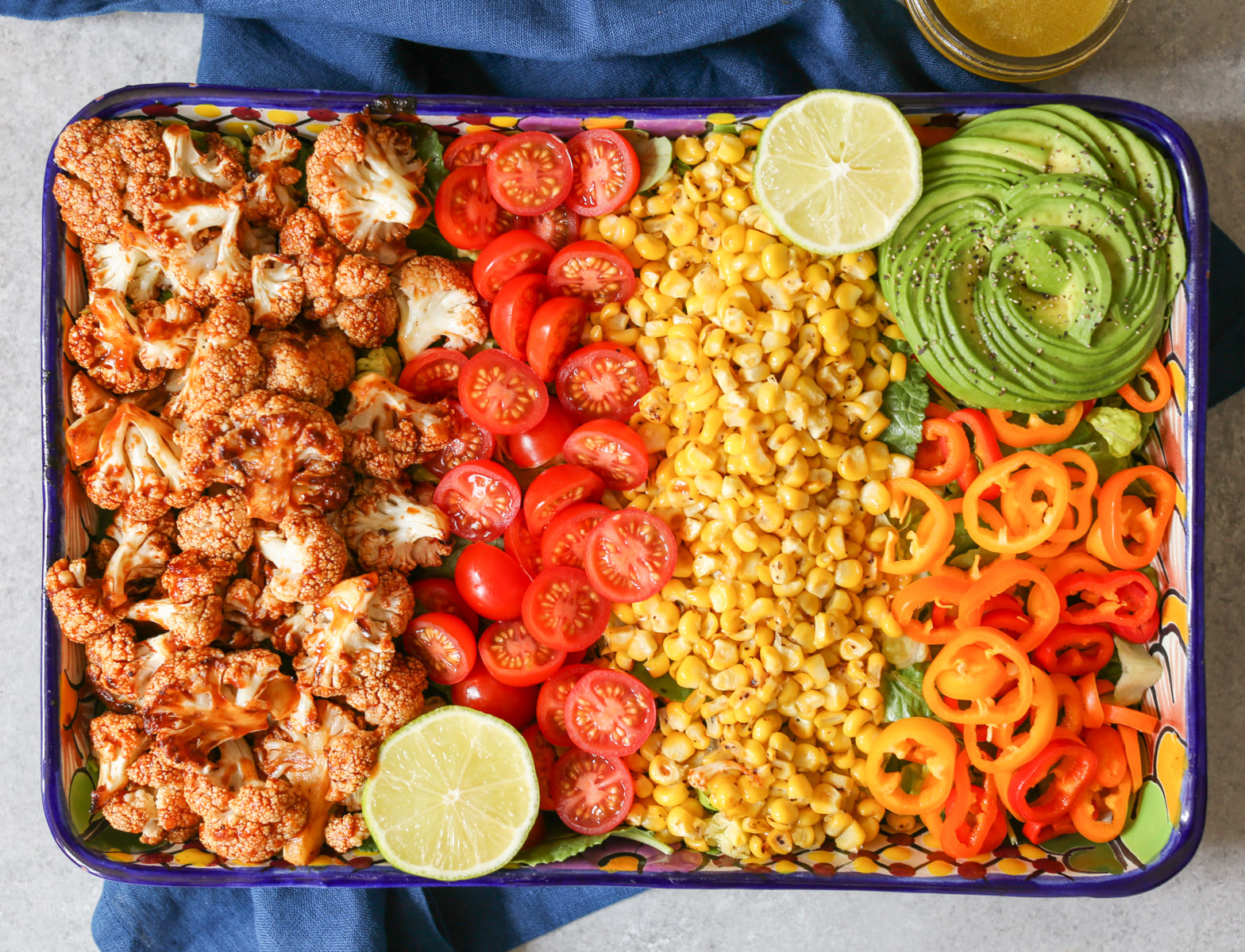 vegan-roasted-bbq-cauliflower-salad-7