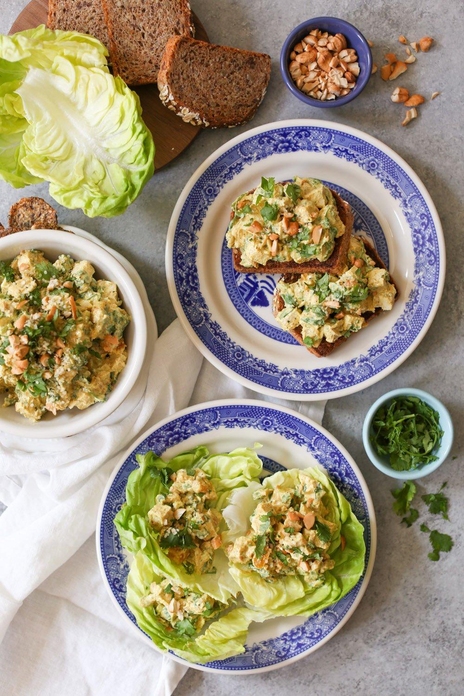Greek Yogurt Curried Chicken Salad