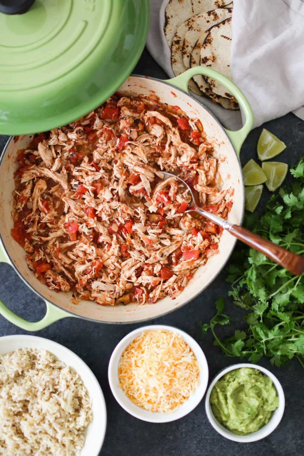 Healthy Pantry Recipes- Easy Chipotle Shredded Chicken