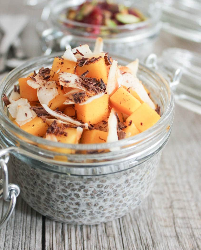 Healthy Pantry Recipes- Vanilla Chia Pudding